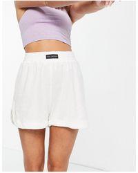 Public Desire Shorts - Blanco