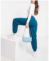 I Saw It First Esclusiva - jogger oversize -azzurro - Verde