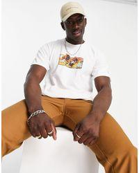 Huf X Street Fighter II - Dhalsim - T-shirt - Blanc