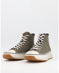 AllSaints All Saints Blakely Hitop Trainers - Grey