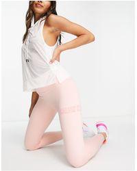 Calvin Klein Leggings largos rosa melocotón - Naranja