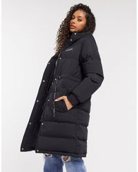 The Couture Club Longline Puffer Jacket - Black