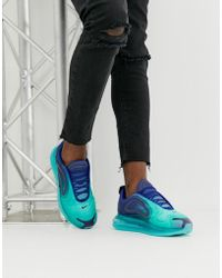 Nike Air Max 720 Shoes - Size 7.5 - Blue