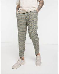 ASOS - Pantalones tapered elegantes - Lyst