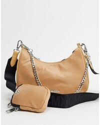 Steve Madden Bvital Crossbody Bag With Chain Strap - Multicolour
