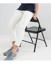 Brooklyn Supply Co. - Slim Ecru Cropped Jeans - Lyst