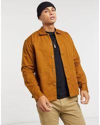 Jack & Jones Originals Worker Overshirt - Brown