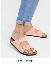Birkenstock – Exclusive – Arizona – Vegane Sandalen - Pink