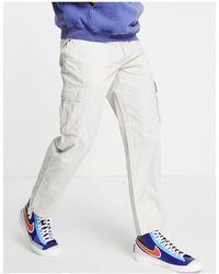New Look Original Fit Ripstop Cargos - Grey
