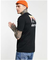 Element Joint Back Print T-shirt - Black