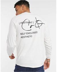 River Island Long Sleeve T-shirt - White