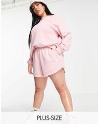 Nike - Plus Size Essential Fleece Shorts - Lyst