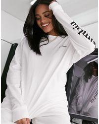 Columbia North Cascades - T-shirt a maniche lunghe bianca - Bianco