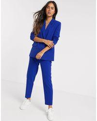 Ichi Pantaloni da abito - Blu