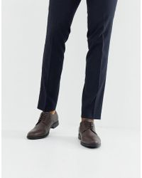 Jack & Jones - Derby Shoes In Brown - Lyst