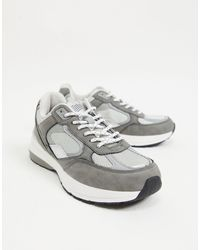 Bershka Sneakers grigie sportive - Grigio