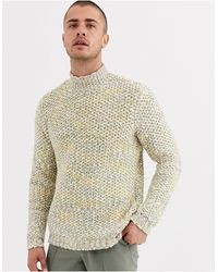 ASOS Heavyweight Sweater - Natural