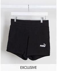 PUMA Essentials - Pantaloncini della tuta neri - Nero
