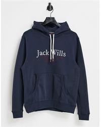 Jack Wills – Batsford – er Kapuzenpullover - Blau