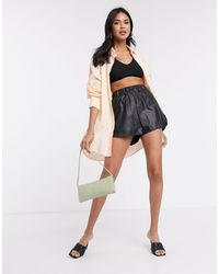 4th & Reckless 4th + Reckless Tailored Pu Short - Black