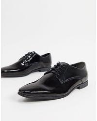 TOPMAN Derby Shoe - Black