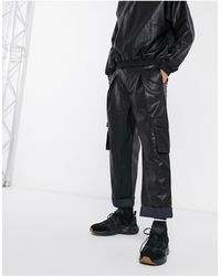 ASOS Pantalones cargo - Negro