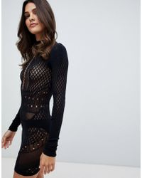 Ann Summers - Janelle Knit Circular Stretch Dress - Lyst