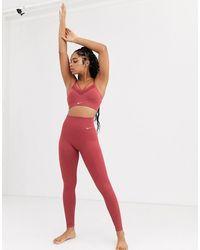 Nike Nike - Yoga - Naadloze legging - Roze