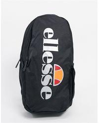 Ellesse Черная Сумка Через Плечо С Большим Светоотражающим Логотипом -черный