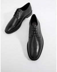 KG by Kurt Geiger Kg By Kurt Geiger Embossed Derby Shoes In Black