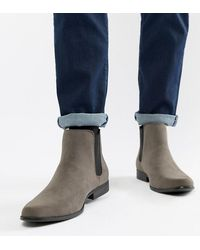 ASOS - Wide Fit Chelsea Boots - Lyst