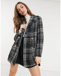 New Look Oversized Blazer Coat - Black
