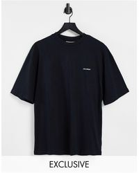 Collusion T-shirt avec logo - Noir