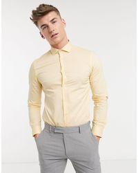 Moss Bros Camisa - Amarillo