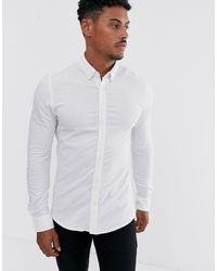 06d99c85 Slim Fit Shirt In White