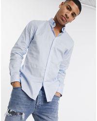 Lacoste Long Sleeve Shirt - Blue