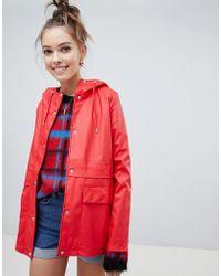 ONLY - Rain Coat - Lyst