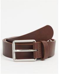 ASOS Wide Belt - Brown