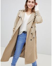 New Look - Oversized Mac Trench Coat - Lyst