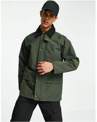 Barbour Шалфейно-зеленая Куртка Bodell-зеленый Цвет