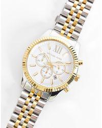 Michael Kors Reloj MK8344 Lexington - Metálico