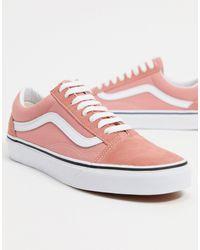 Vans Розовые Кроссовки Ua Old Skool-розовый