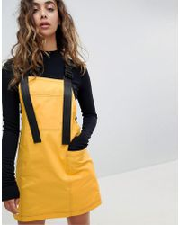 The Ragged Priest - Dress With Straps And Clips - Lyst