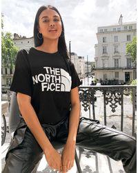 The North Face Half Dome - T-shirt crop top - Noir