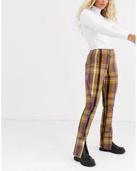 Monki Pantalones - Multicolor