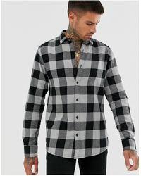 Only & Sons Slim Shirt - Gray