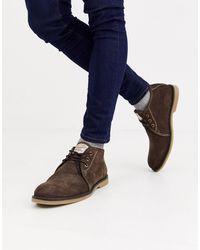 Original Penguin - Коричневые Замшевые Ботинки -коричневый - Lyst