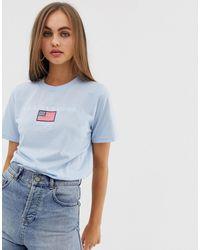 Daisy Street - T-shirt décontracté avec broderie Los Angeles - Lyst