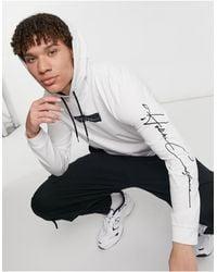 Hollister Camiseta blanca - Blanco