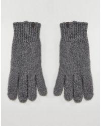 Esprit - Gloves In Oatmeal Marl - Lyst